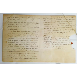 Joseph Bonaparte : Lettre...