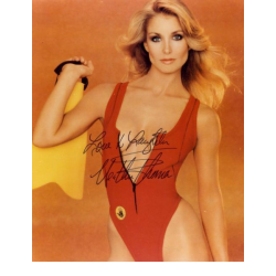 Heather Thomas : Photo signée