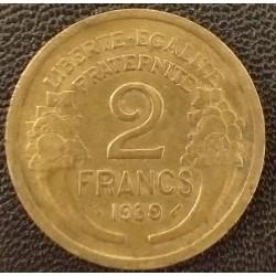 Coin France: 2 Francs 1939