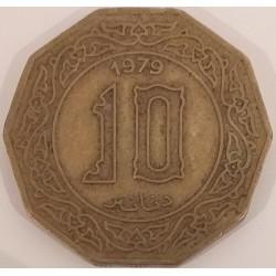 Coin Algeria: 10 Dinars 1979