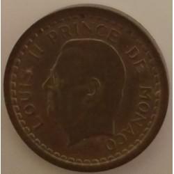 Coin Monaco: 2 Francs Louis...