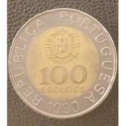 Coin Portugal 100 Escudos...