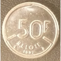 Coin Belgium: 50 Francs 1987