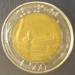 Coin Italy: 500 lire 1984