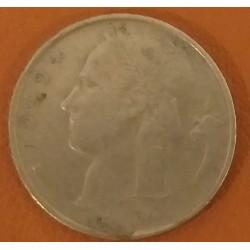 Coin Belgium: 5 Francs 1949