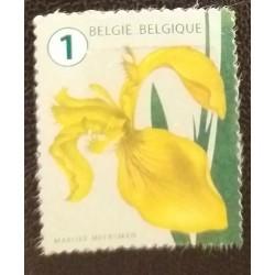 Timbre Belgique Fleur...