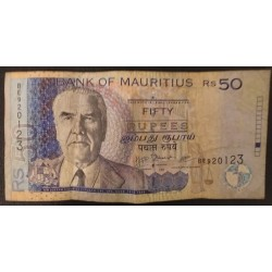 Banknote Mauritius: 50...