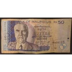 Billet Ile Maurice : 50...