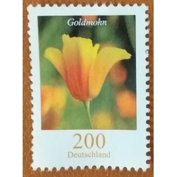 Stamp Germany Goldmohn 200...