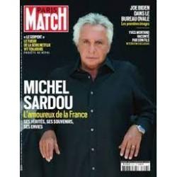 Paris Match - Michel Sardou...