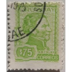 Timbre Uruguay 75$ General...