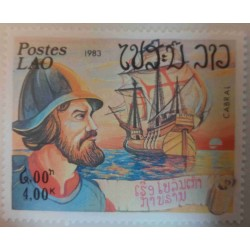 Laos Stamp: Cabral Explorer...