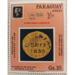 Paraguay stamp...