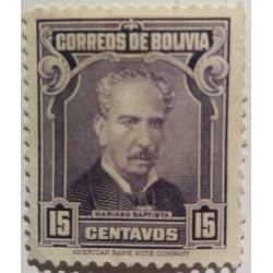 Bolivia stamp: President...