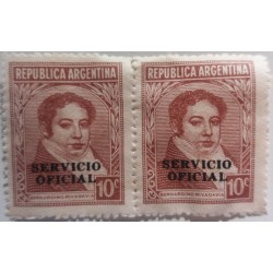 Stamp Argentina President...