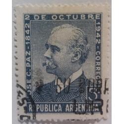 Argentina stamp: 5c...
