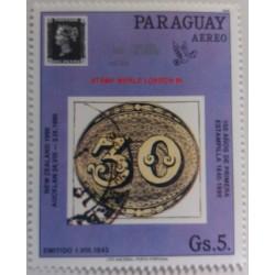 Timbre Paraguay Salon du...