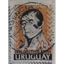Espagnol Uruguay stamp: 20...