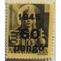 Stamp Hungary 60 Pengo 1945