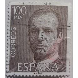 Stamp Spain : 100 Pesetas...