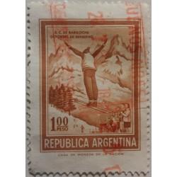 Argentina Stamp: 100 Pesos...