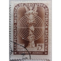 Argentina Stamp: 75c World...