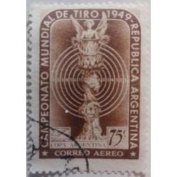 Timbre Argentine : 75c...