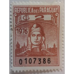 Paraguay stamp: 2 G 1976