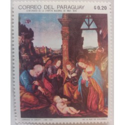 Paraguay stamp: 0.2 G...