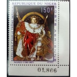 Timbre Niger 150 F Napoleon...