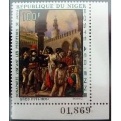 Niger stamp: 100 F...