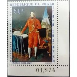 Niger Stamp: 50 F Bonaparte...