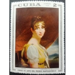 Cuba stamp: 2 Hortense de...