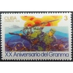 Cuba stamp: 3 20th...
