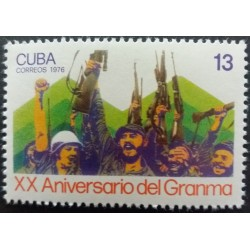 Timbre Cuba : 13 XXe...
