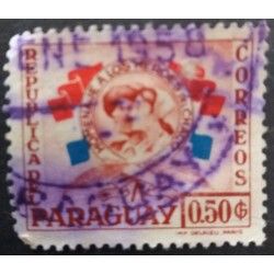 Paraguay stamp: 50 centimes...