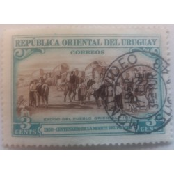 Uruguay stamp: Centenary of...