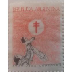Stamp Argentina - 10...