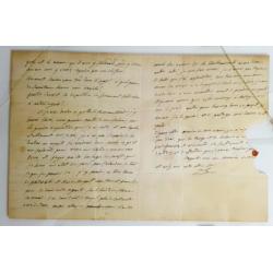 Joseph Bonaparte : Signed...
