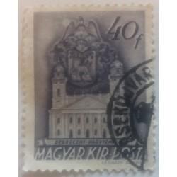 Hungary stamp: 40 Pengo