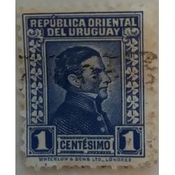 Uruguay-Stempel: 1 Centime