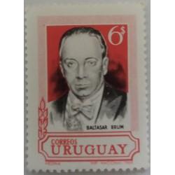 Uruguay stamp: President...