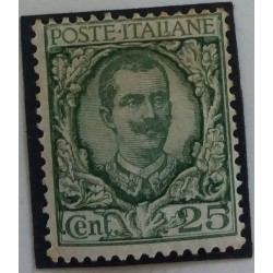 Stamp Italy: 25 Cents