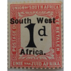 Stamp South Africa: 1 D...