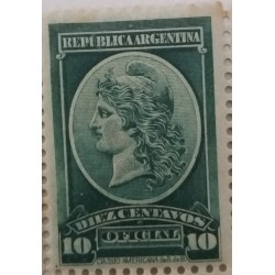 Argentina stamp: 10 Cents