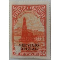 Argentina stamp: 50 Cent...