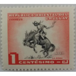Uruguay stamp : 1 cent La Doma