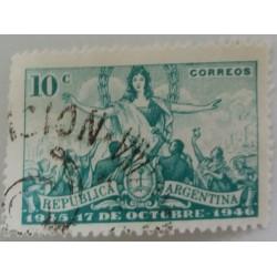 Argentina stamp: 10...