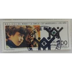 Argentine stamp 100 Pesos...