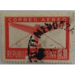 Argentina stamp: 1 Peso
